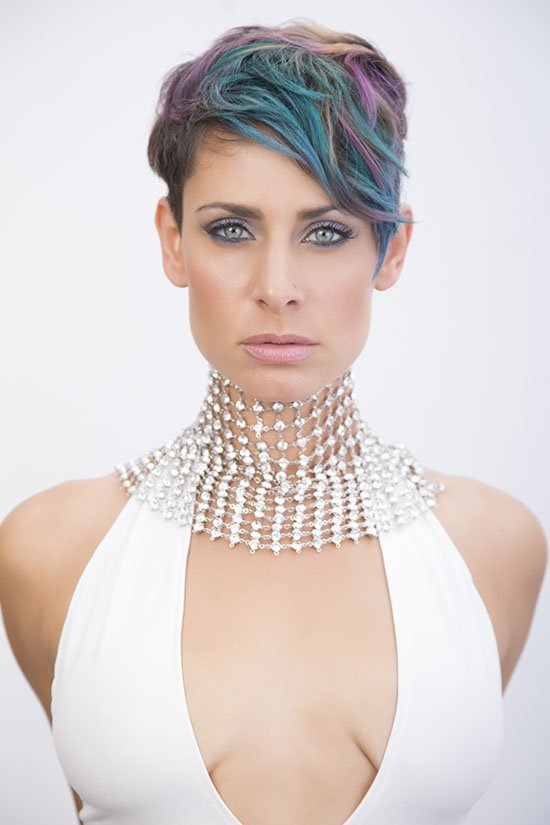 Fashion Commercial Advertising Photographer Orange county for Elv Petri Jewelry collection