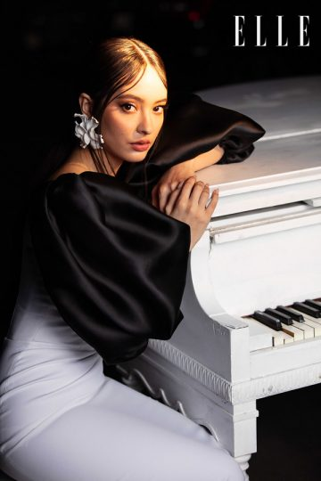 SID_RANE famous musician Faouzia for ELLE magazine Fashion advertising photography by professional commercial photographer Sid of Portland ,Orange County OC, Los Angeles, California